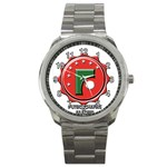 Reloj Futbolchapas Madrid. - Sport Metal Watch