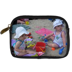 The Girls   The Beach Camera Case By Ana Rosa   Digital Camera Leather Case   Ib85jkz8on8g   Www Artscow Com Front