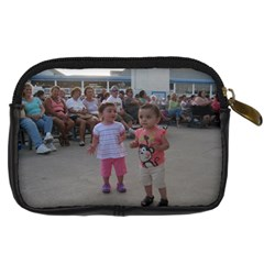 The Girls   The Beach Camera Case By Ana Rosa   Digital Camera Leather Case   Ib85jkz8on8g   Www Artscow Com Back