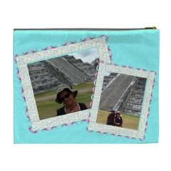 Bolso Mejico By Lydia   Cosmetic Bag (xl)   Qjihelh5klh7   Www Artscow Com Back