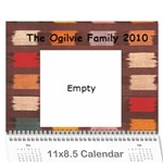calendar for grandparents - Wall Calendar 11  x 8.5  (12-Months)