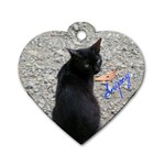 Snipey - Dog Tag Heart (One Side)