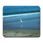 heron mousepad - Large Mousepad