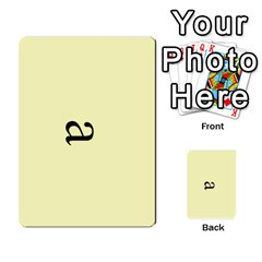 Book Of Mormon Flash Cards By Jessica Navarro   Multi Purpose Cards (rectangle)   2961tpdxf2on   Www Artscow Com Front 2