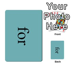 Book Of Mormon Flash Cards By Jessica Navarro   Multi Purpose Cards (rectangle)   2961tpdxf2on   Www Artscow Com Front 14