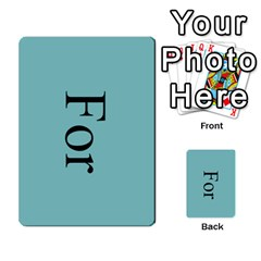 Book Of Mormon Flash Cards By Jessica Navarro   Multi Purpose Cards (rectangle)   2961tpdxf2on   Www Artscow Com Back 14