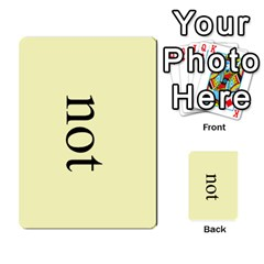 Book Of Mormon Flash Cards By Jessica Navarro   Multi Purpose Cards (rectangle)   2961tpdxf2on   Www Artscow Com Front 15