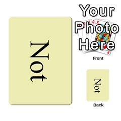 Book Of Mormon Flash Cards By Jessica Navarro   Multi Purpose Cards (rectangle)   2961tpdxf2on   Www Artscow Com Back 15