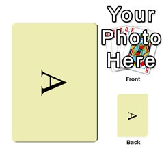 Book Of Mormon Flash Cards By Jessica Navarro   Multi Purpose Cards (rectangle)   2961tpdxf2on   Www Artscow Com Back 2