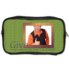 Father s Day By Wood Johnson   Toiletries Bag (two Sides)   3enlmyc1aksb   Www Artscow Com Front