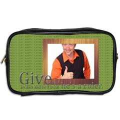 Father s Day By Wood Johnson   Toiletries Bag (two Sides)   3enlmyc1aksb   Www Artscow Com Back