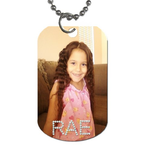 Rae By Amy Romero   Dog Tag (one Side)   Tv9guq6ktd2i   Www Artscow Com Front