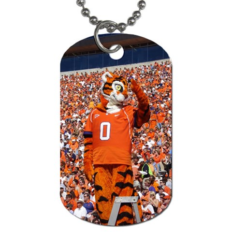 Tiger Dog Tag  By Laicie Langston   Dog Tag (one Side)   0lwnnrygcmr5   Www Artscow Com Front