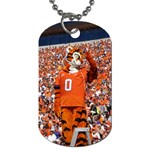 Tiger Dog Tag. - Dog Tag (One Side)