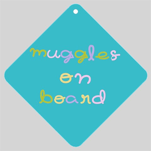 Muggle By Kara   Car Window Sign   Wad66qp4dmz2   Www Artscow Com Front