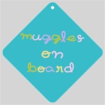 muggle - Car Window Sign