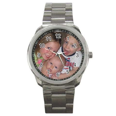 Father s Day    By Barbie   Sport Metal Watch   R0q54xihig3a   Www Artscow Com Front