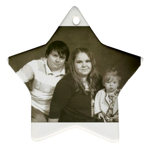 Star Ornament By Tonya Smith   Ornament (star)   0kyj2f65ftxe   Www Artscow Com Front