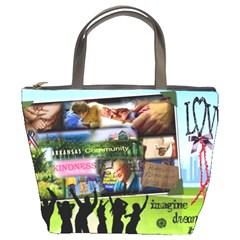 Harrison Bag By Kathy Tarochione   Bucket Bag   Lmt6chyr261s   Www Artscow Com Front