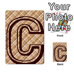 Alpha Cards By Carissa   Multi Purpose Cards (rectangle)   Gtwlzpnfqmce   Www Artscow Com Front 6