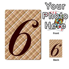 Alpha Cards By Carissa   Multi Purpose Cards (rectangle)   Gtwlzpnfqmce   Www Artscow Com Front 51