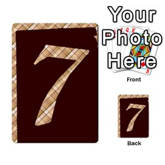 Alpha Cards By Carissa   Multi Purpose Cards (rectangle)   Gtwlzpnfqmce   Www Artscow Com Front 52