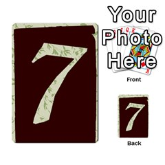 Alpha Cards By Carissa   Multi Purpose Cards (rectangle)   Gtwlzpnfqmce   Www Artscow Com Back 52