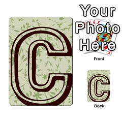 Alpha Cards By Carissa   Multi Purpose Cards (rectangle)   Gtwlzpnfqmce   Www Artscow Com Back 7