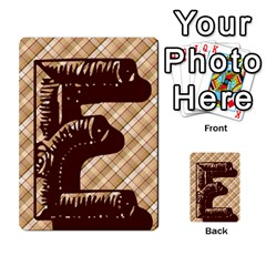 Alpha Cards By Carissa   Multi Purpose Cards (rectangle)   Gtwlzpnfqmce   Www Artscow Com Front 10