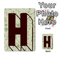 Alpha Cards By Carissa   Multi Purpose Cards (rectangle)   Gtwlzpnfqmce   Www Artscow Com Back 13