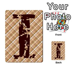 Alpha Cards By Carissa   Multi Purpose Cards (rectangle)   Gtwlzpnfqmce   Www Artscow Com Front 14