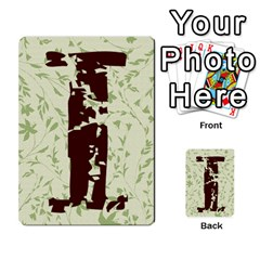 Alpha Cards By Carissa   Multi Purpose Cards (rectangle)   Gtwlzpnfqmce   Www Artscow Com Back 15