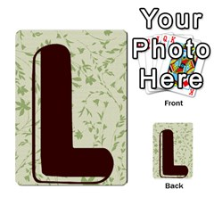 Alpha Cards By Carissa   Multi Purpose Cards (rectangle)   Gtwlzpnfqmce   Www Artscow Com Back 20