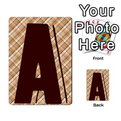 Alpha Cards By Carissa   Multi Purpose Cards (rectangle)   Gtwlzpnfqmce   Www Artscow Com Front 3