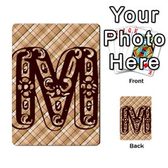 Alpha Cards By Carissa   Multi Purpose Cards (rectangle)   Gtwlzpnfqmce   Www Artscow Com Front 21