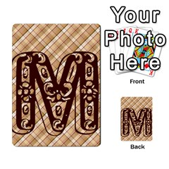Alpha Cards By Carissa   Multi Purpose Cards (rectangle)   Gtwlzpnfqmce   Www Artscow Com Front 22