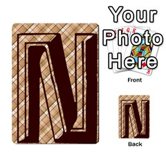 Alpha Cards By Carissa   Multi Purpose Cards (rectangle)   Gtwlzpnfqmce   Www Artscow Com Front 24