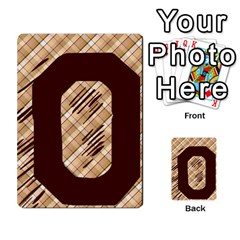 Alpha Cards By Carissa   Multi Purpose Cards (rectangle)   Gtwlzpnfqmce   Www Artscow Com Front 25