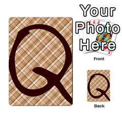 Alpha Cards By Carissa   Multi Purpose Cards (rectangle)   Gtwlzpnfqmce   Www Artscow Com Front 28
