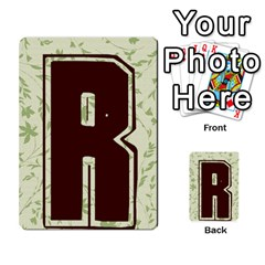 Alpha Cards By Carissa   Multi Purpose Cards (rectangle)   Gtwlzpnfqmce   Www Artscow Com Back 29