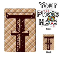 Alpha Cards By Carissa   Multi Purpose Cards (rectangle)   Gtwlzpnfqmce   Www Artscow Com Front 34