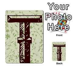 Alpha Cards By Carissa   Multi Purpose Cards (rectangle)   Gtwlzpnfqmce   Www Artscow Com Back 34