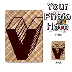 Alpha Cards By Carissa   Multi Purpose Cards (rectangle)   Gtwlzpnfqmce   Www Artscow Com Front 37