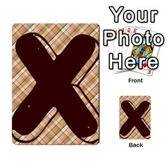 Alpha Cards By Carissa   Multi Purpose Cards (rectangle)   Gtwlzpnfqmce   Www Artscow Com Front 39