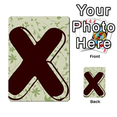 Alpha Cards By Carissa   Multi Purpose Cards (rectangle)   Gtwlzpnfqmce   Www Artscow Com Back 39
