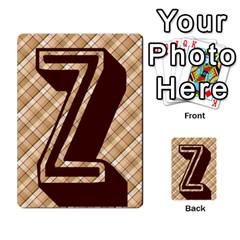 Alpha Cards By Carissa   Multi Purpose Cards (rectangle)   Gtwlzpnfqmce   Www Artscow Com Front 42