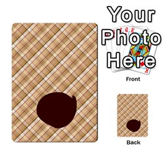 Alpha Cards By Carissa   Multi Purpose Cards (rectangle)   Gtwlzpnfqmce   Www Artscow Com Front 43