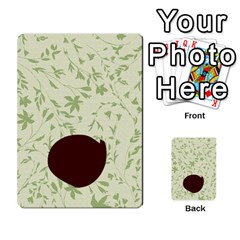 Alpha Cards By Carissa   Multi Purpose Cards (rectangle)   Gtwlzpnfqmce   Www Artscow Com Back 43