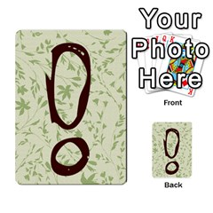 Alpha Cards By Carissa   Multi Purpose Cards (rectangle)   Gtwlzpnfqmce   Www Artscow Com Back 44