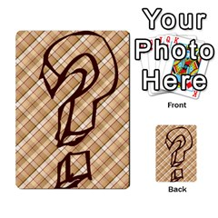 Alpha Cards By Carissa   Multi Purpose Cards (rectangle)   Gtwlzpnfqmce   Www Artscow Com Front 45
